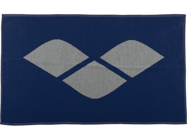 arena Hiccup Towel, navy-grey